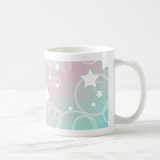Abstract Candy Star Coffee Mug