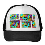 Abstract candy StitchlipsHouse Hat
