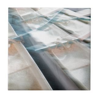 Abstract Canoes Ceramic Tiles