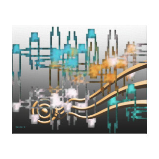 Abstract Canvas Stretched Canvas Prints