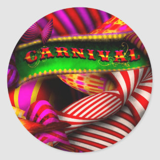 Abstract - Carnival Stickers