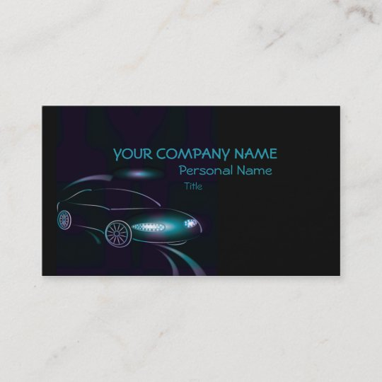 abstract cars business business card zazzle com