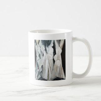 Abstract Caryatides (abstract human figures) Coffee Mug