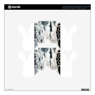 Abstract Caryatides (abstract human figures) PS3 Controller Skins