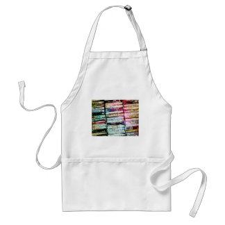 Abstract Cassettes Graphic Apron