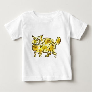 Abstract Cat Baby T-Shirt