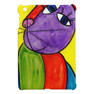 Abstract Cat Cover For The iPad Mini