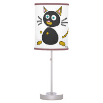 Abstract Cat Lamps