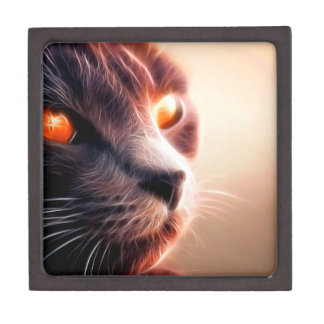 Abstract Cat Pet Gift Box