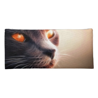 Abstract Cat Pet Pencil Case