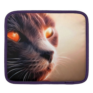 Abstract Cat Pet Sleeves For iPads