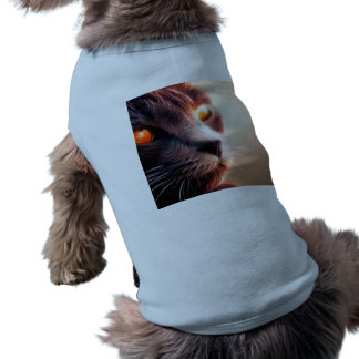 Abstract Cat Pet T-Shirt
