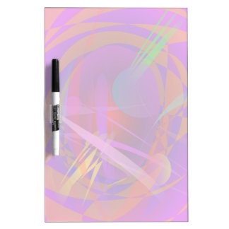 Abstract Cat s Face Dry-Erase Board