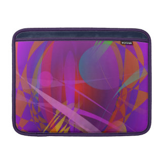 Abstract Cat s Face MacBook Air Sleeves