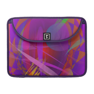 Abstract Cat s Face MacBook Pro Sleeves