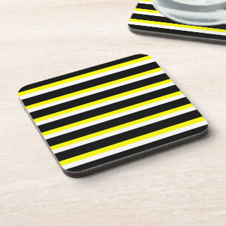 Abstract Caterpillar of the Monarch Butterfly Beverage Coaster