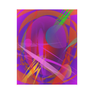 Abstract Cat's Face Canvas Print