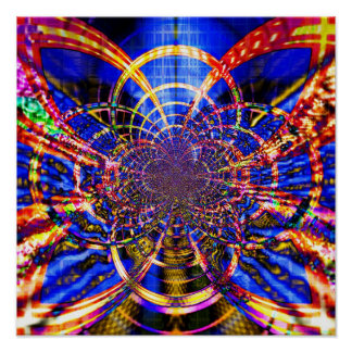 Abstract Ceiling 1.3 Poster