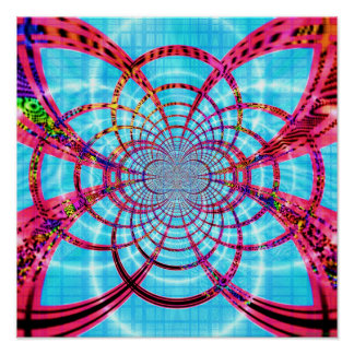 Abstract Ceiling 1.3b Print