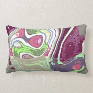 Abstract Cell by Alexandra Cook Throw Pillow