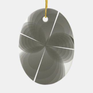 abstract ceramic ornament