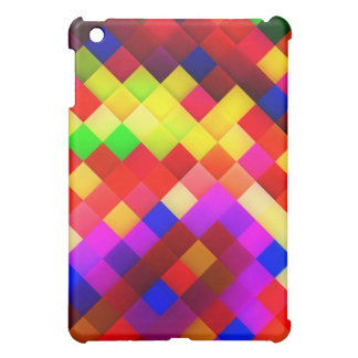 Abstract Ceramic Wall Tiles: Hyperactive Rainbow iPad Mini Cover