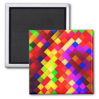 Abstract Ceramic Wall Tiles: Hyperactive Rainbow Magnet
