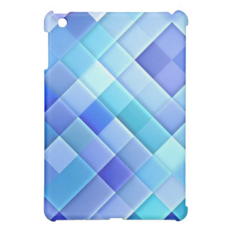 Abstract Ceramic Wall Tiles: Shade of True Blue iPad Mini Cover