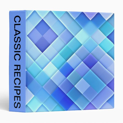 Abstract Ceramic Wall Tiles: Shade of True Blue *M Binder
