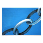 Abstract - chain 13 cm x 18 cm invitation card