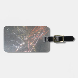 Abstract Chalk Luggage Tag
