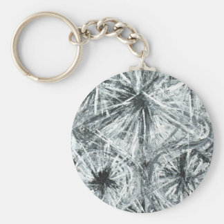 Abstract Chandelier (abstract expressionism) Keychain