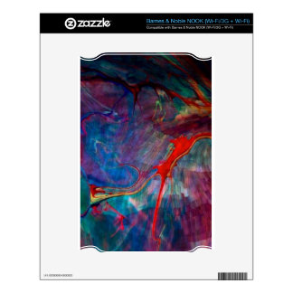abstract chaos, colorful skin for NOOK
