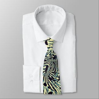 Abstract Chaos Neck Tie