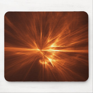 abstract chaos power fire burst mouse pads