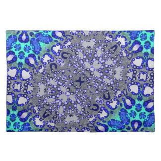 Abstract Cheetah Print Cloth Place Mat