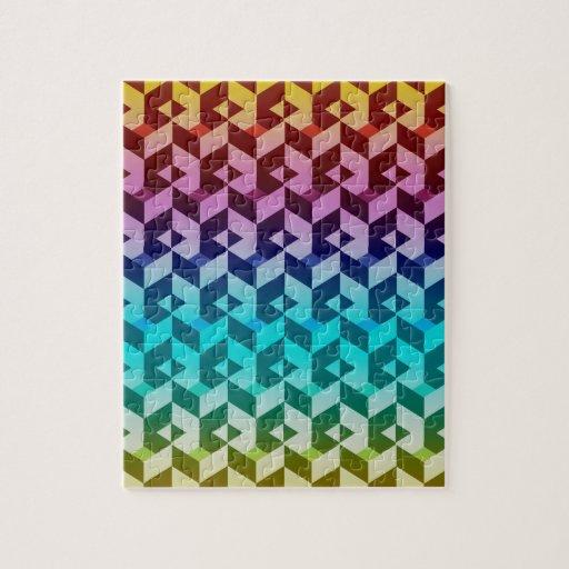 Abstract Chevron Puzzle