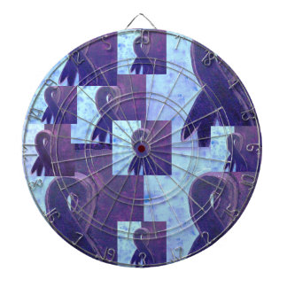 Abstract Chiari Dart Board