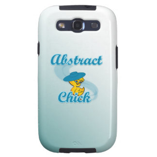 Abstract Chick 3 Galaxy S3 Covers