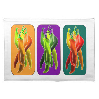 Abstract Chiles Placemat