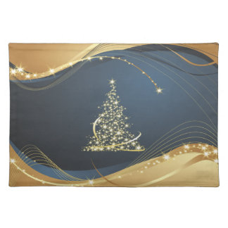 Abstract Christmas Tree  American MoJo Placemats