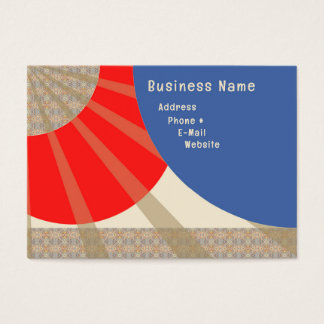 Abstract Chubby Business Card Design