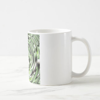 Abstract circle green designed by Tutti Coffee Mug