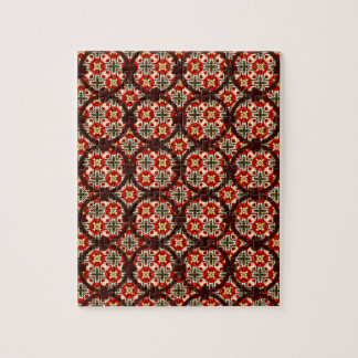 Abstract Circle Link Decorative Pattern Puzzles