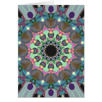 Abstract Circle of Design Card