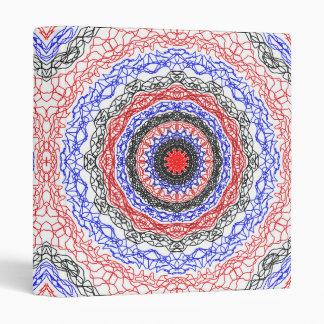 Abstract Circle Pattern Binder