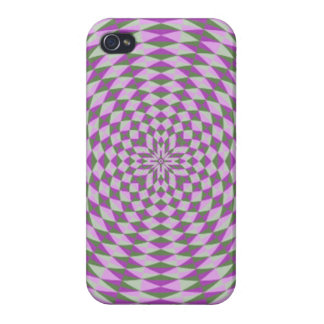 Abstract Circle Pattern Cases For iPhone 4