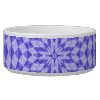 abstract Circle Pattern Dog Water Bowl