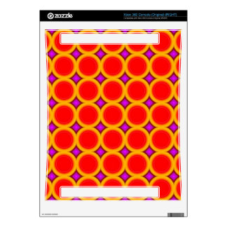 Abstract circle pattern skin for xbox 360