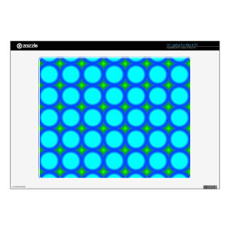 "Abstract Circle Pattern Skins For 14"" Laptops"